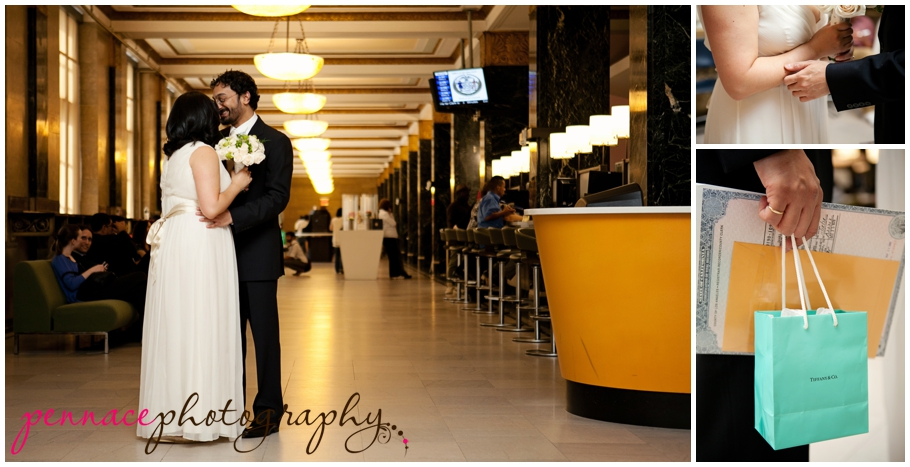 Eloping Couple at City Hall
