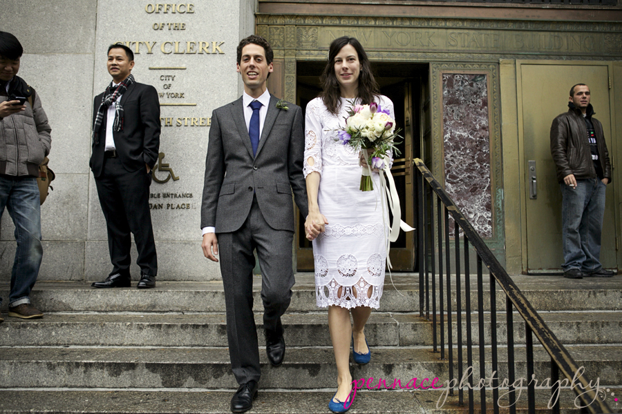 Manhattan city hall clerk 39 s office wedding for City hall wedding dresses nyc