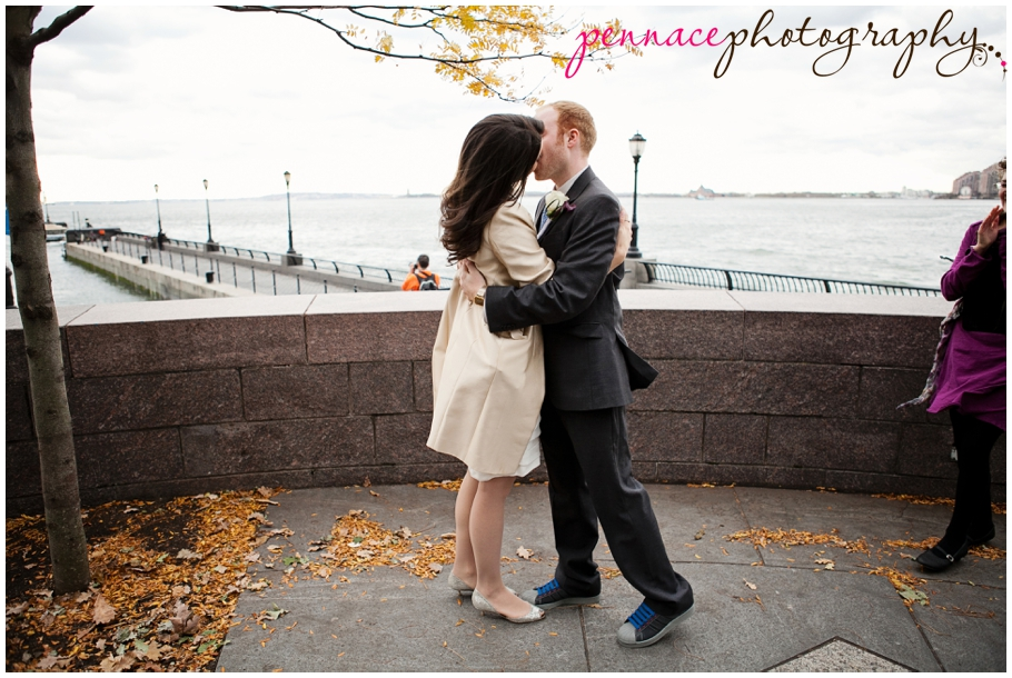 Small wedding in New York City