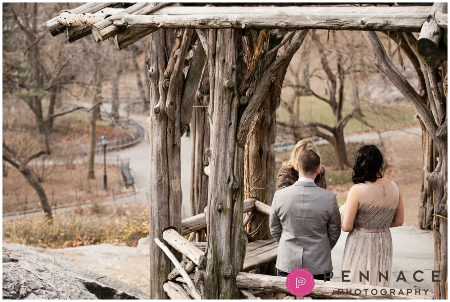 Private wedding in Central Park