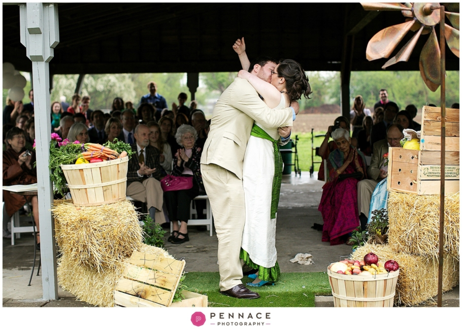 Wedding At Queens County Farm Museum Anna Jory