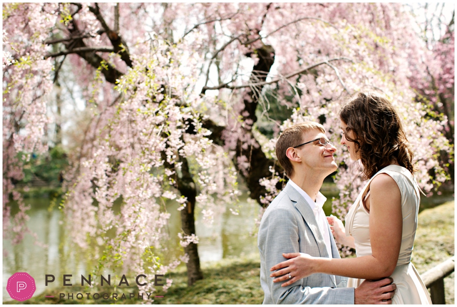 Laura + Kevin ○ Brooklyn Botanic Garden Engagement Shoot