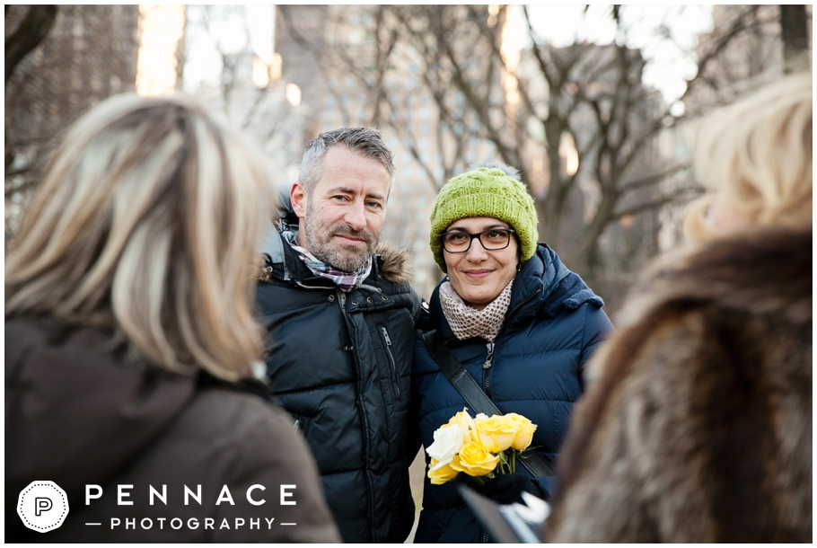 Surprise vow renewal in New York