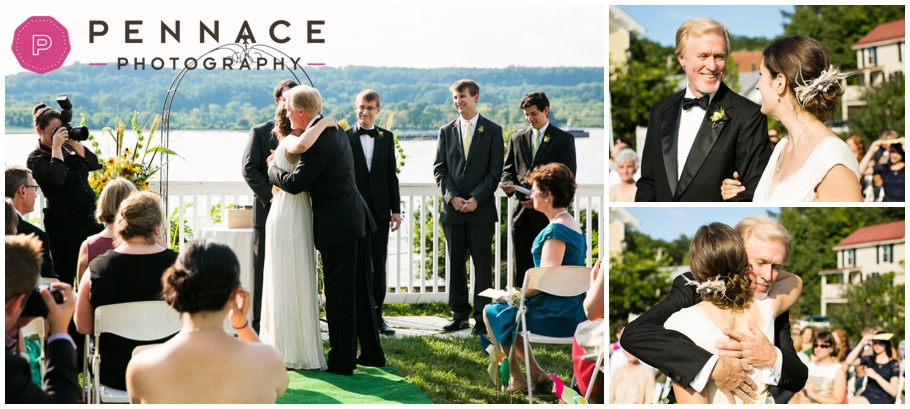 Summer wedding at the Rhinecliff
