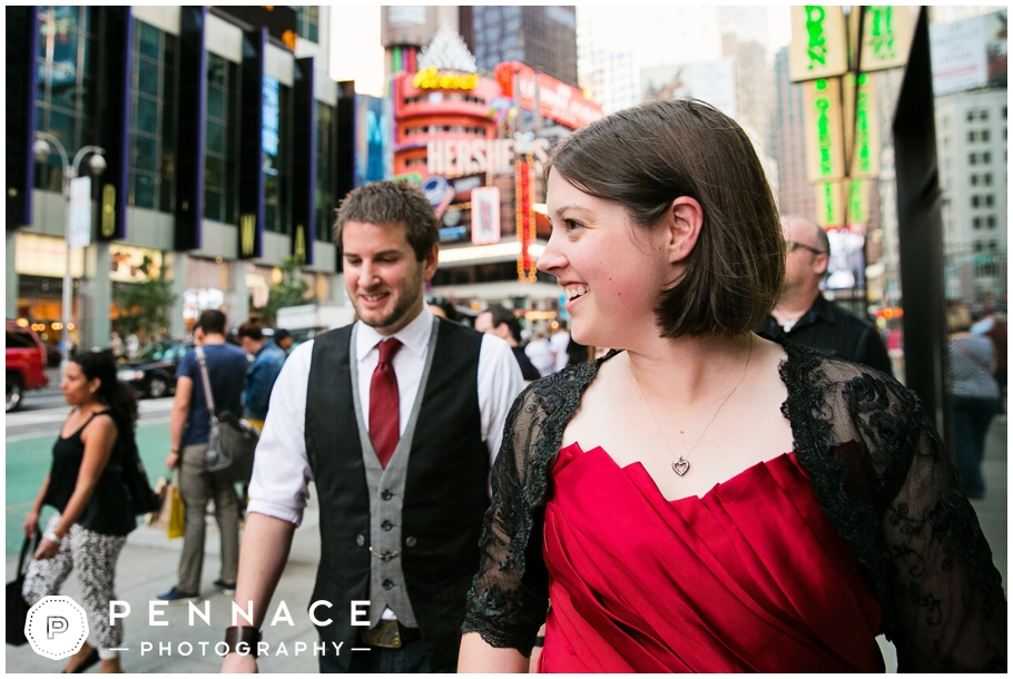 Wedding in Times Square