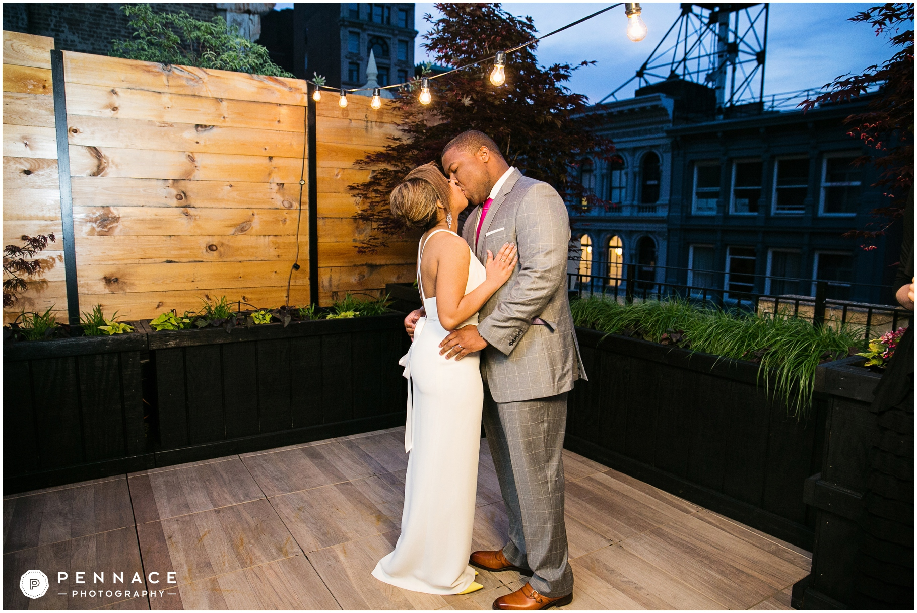 Hotel Rooftop Weddings