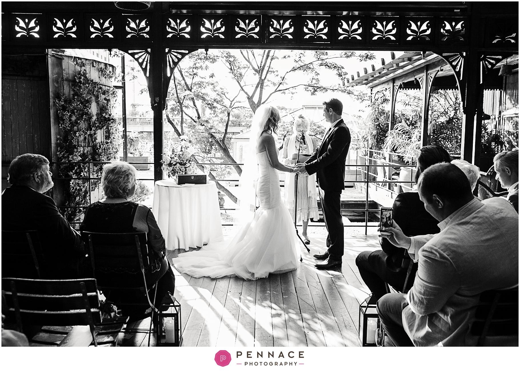 Park Restaurant wedding photos