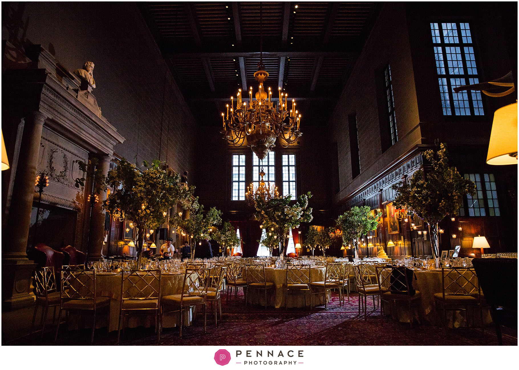 Harvard Hall Room Wedding