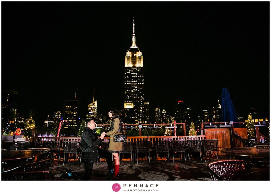 Where to Propose with Empire State Building View
