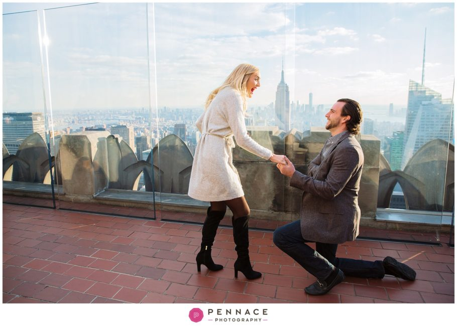 Where To Propose In Nyc With An Empire State Building View Staten