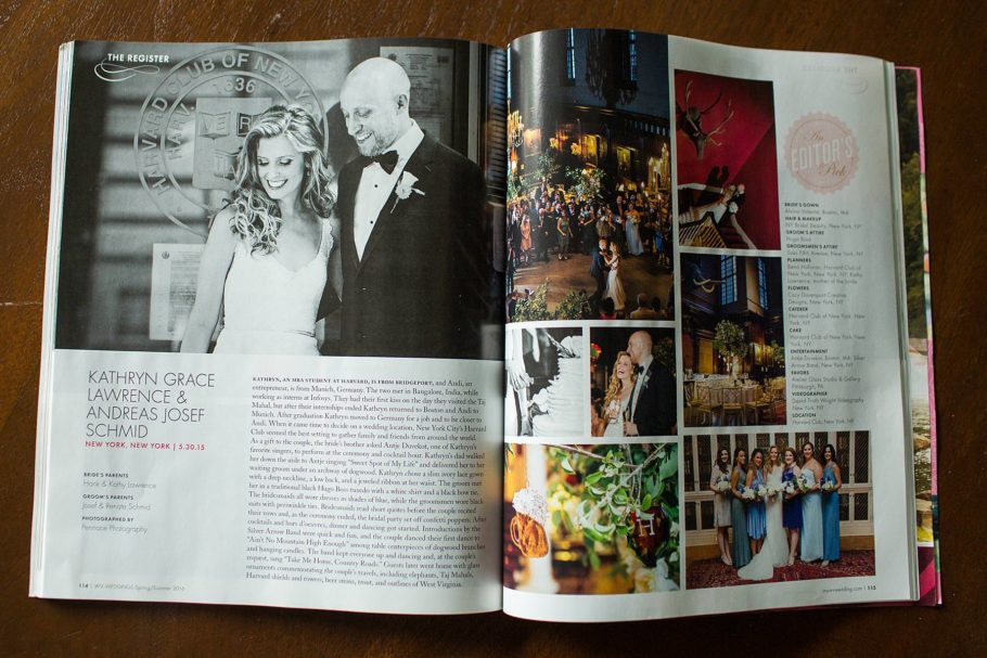WV Weddings Feature