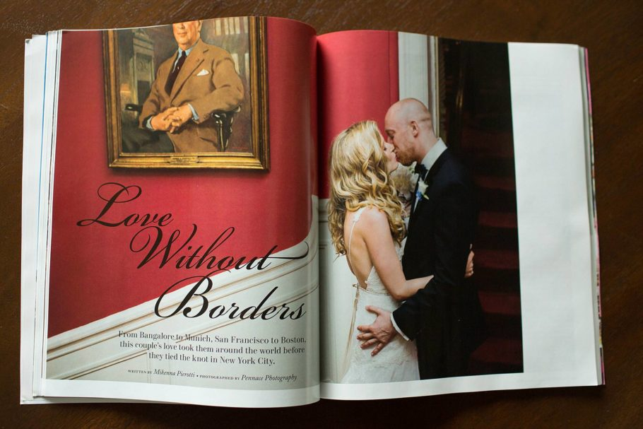 Wedding Photographers in Magazines