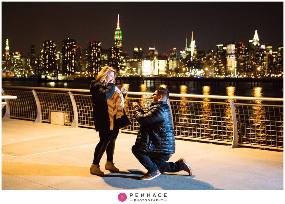 Greenpoint Brooklyn Marriage Proposal