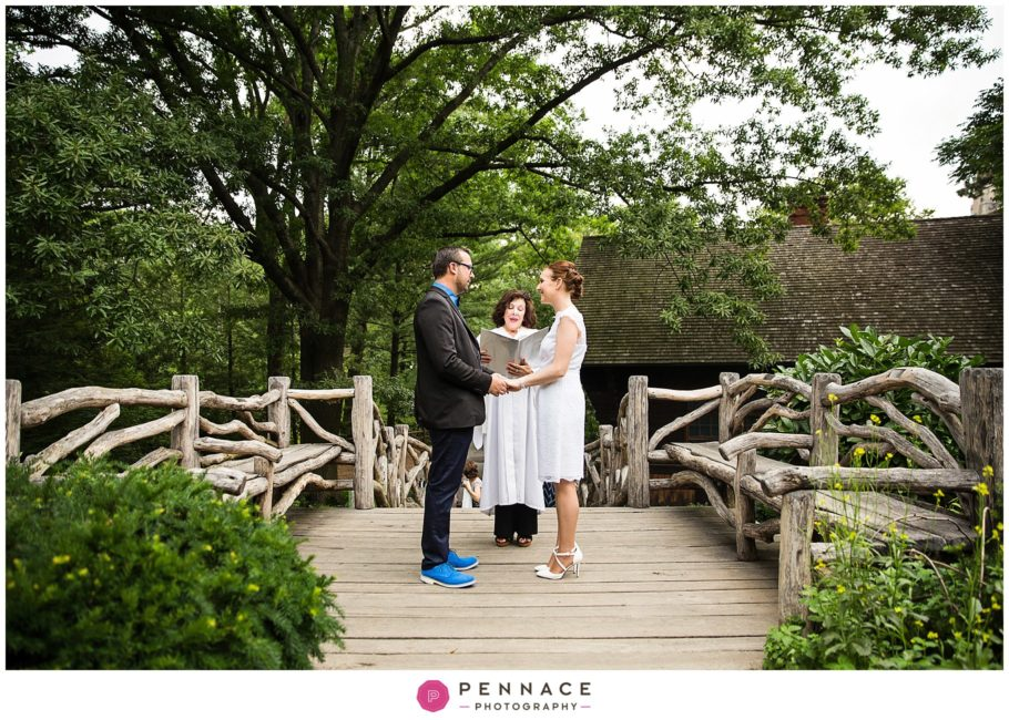 Central Park Elopement In Shakespeare Garden Aurelie Julien Staten Island Wedding