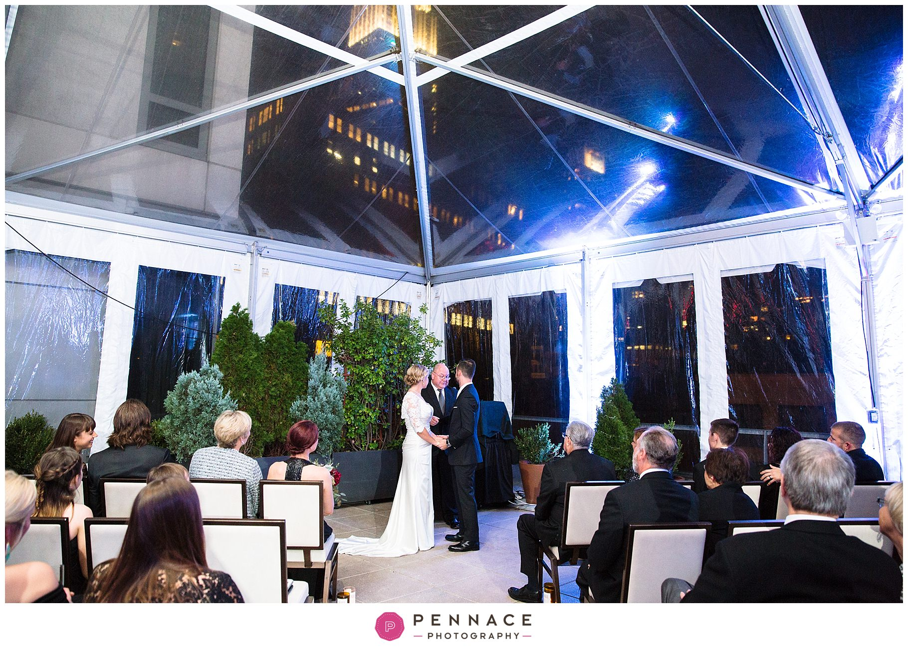 Manhattan plaza wedding
