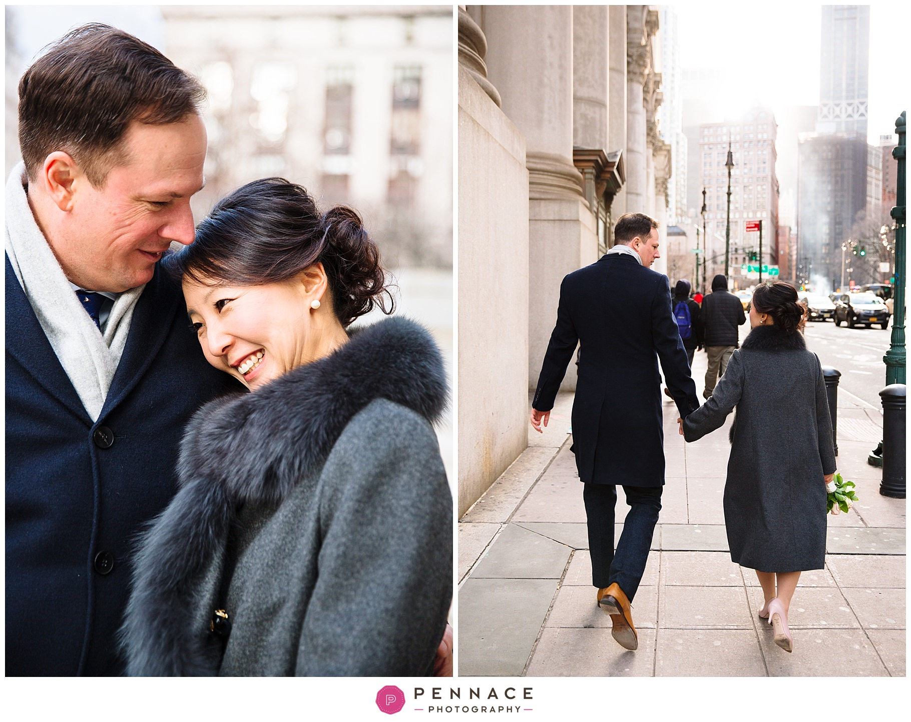Winter wedding in NYC