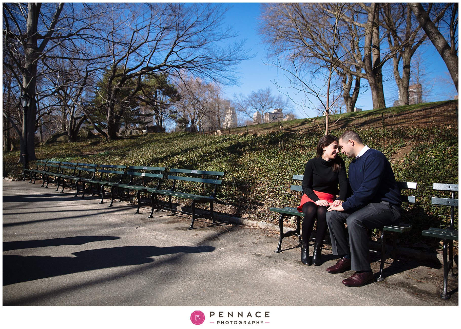 Getting engaged in NYC