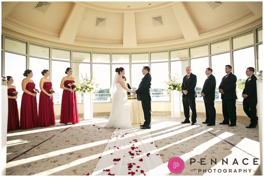 Wedding At Glen Island Harbour Club