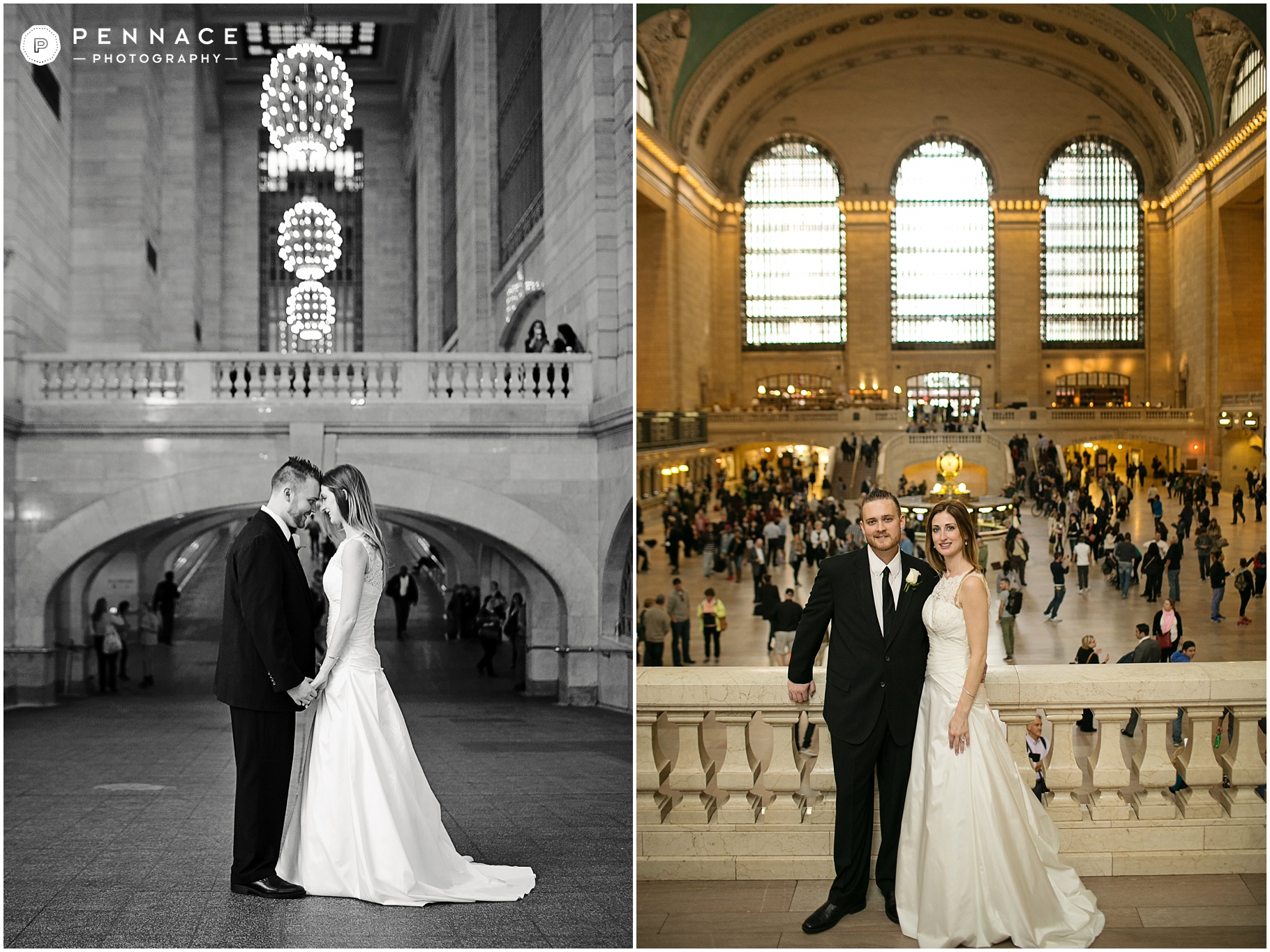 Getting Married In Grand Central Station Train Wedding Photos