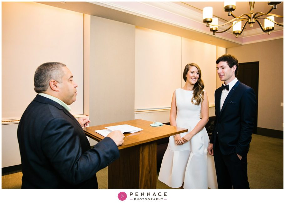 Courthouse Wedding In New York